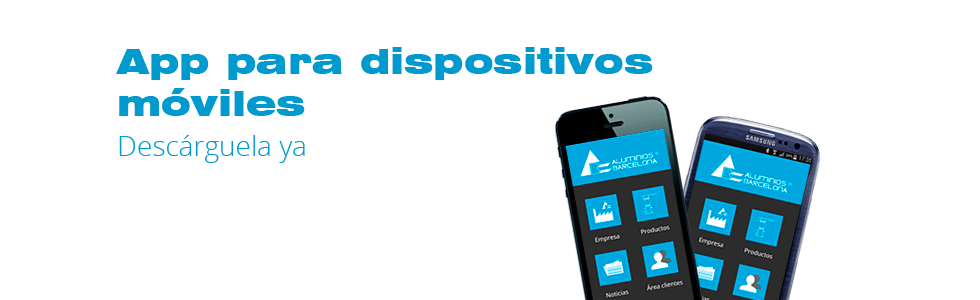 App movil Aluminios Barcelona